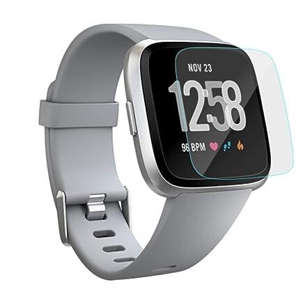 Sannysis Fitbit Versa Protector para Fitbit Versa smartwatch, Película de Protector de Pantalla LCD para