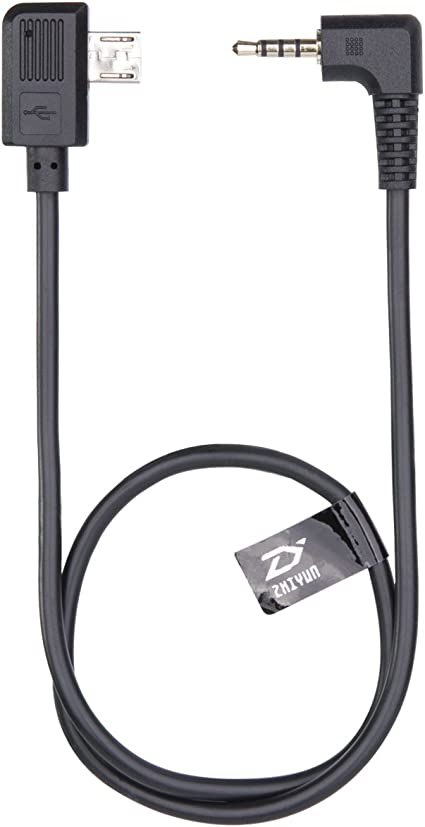 UFFICIALE ZHIYUN Crane Gimbal Stabilizzatore Cavo di controllo per fotocamera Sony