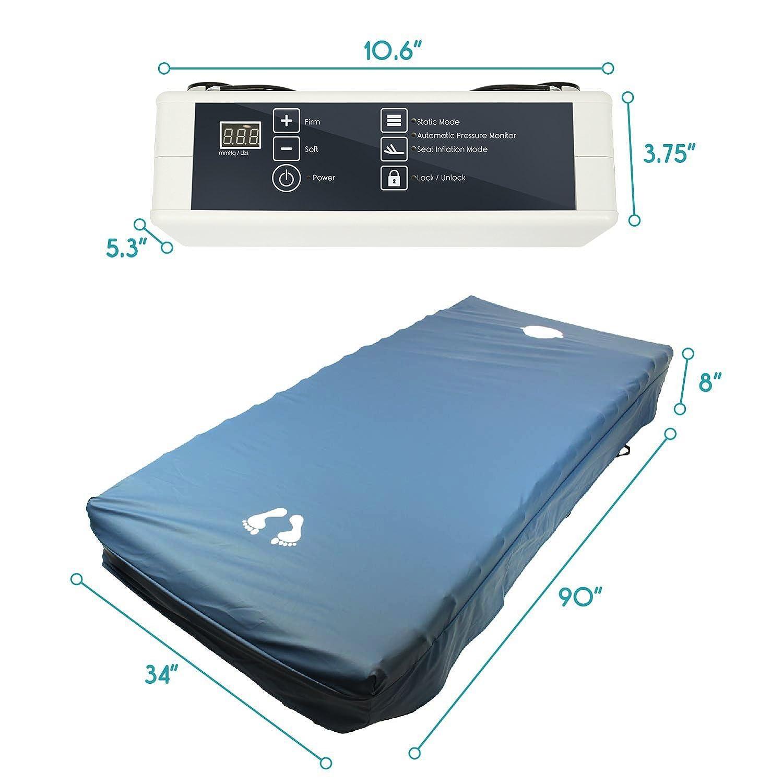 Amazon Alternating Pressure Mattress 8 by Vive Low Air