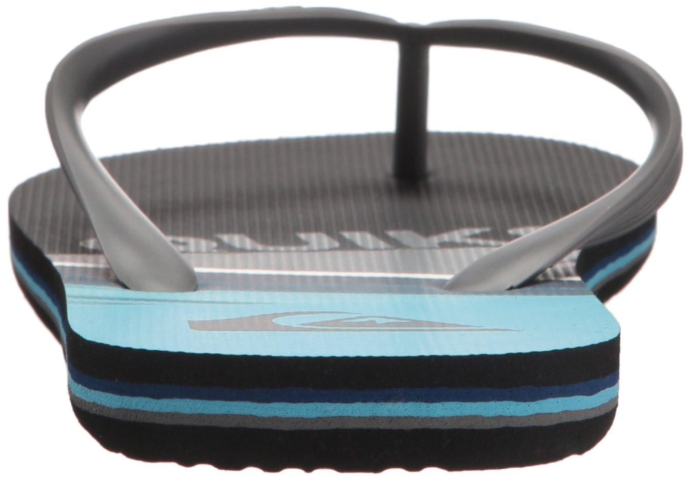 Quiksilver Men's Molokai Slash Sandal, Black/Grey/Blue, 6 D US by Quiksilver (Image #2)