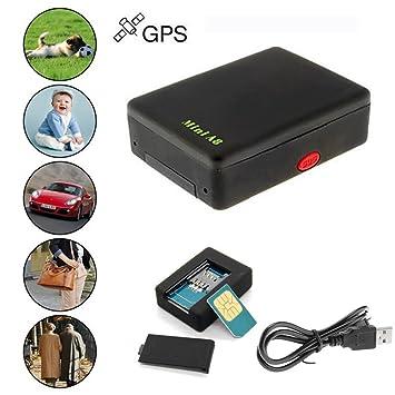 Tongshi Localizador Global Mini en tiempo real del coche Niños A8 GSM / GPRS / GPS