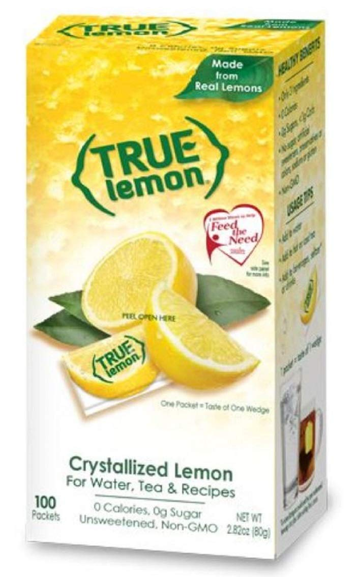 True Lemon Bulk Dispenser Pack, 0.028 Ounce, (100 Packets)