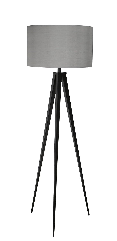 Zuiver 5000800 Tripod Floor Lamp, Metal, Black/Grey: Amazon.co.uk: Lighting