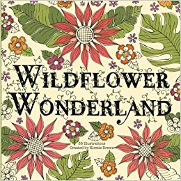 Amazon Wildflower Wonderland A Wild And Whimsical Coloring Book 9781975802240 Kirstie Drews Books