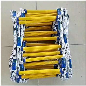 Momia sacos de dormir Escalera de incendio Escalera de 2-10 Historia Escalera de cuerda, escalera de cuerda antideslizante de emergencia de seguridad con gancho, Rescate de salida de emergencia Escale: Amazon.es: Bricolaje
