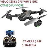 Drone Visuo Xs 812 Gps Wifi Fpv Câmera 5 Mp 1080p