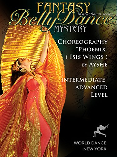 Isis Costume Video (Phoenix - Bellydance Isis Wings Choreography by Ayshe - intermediate belly dance)