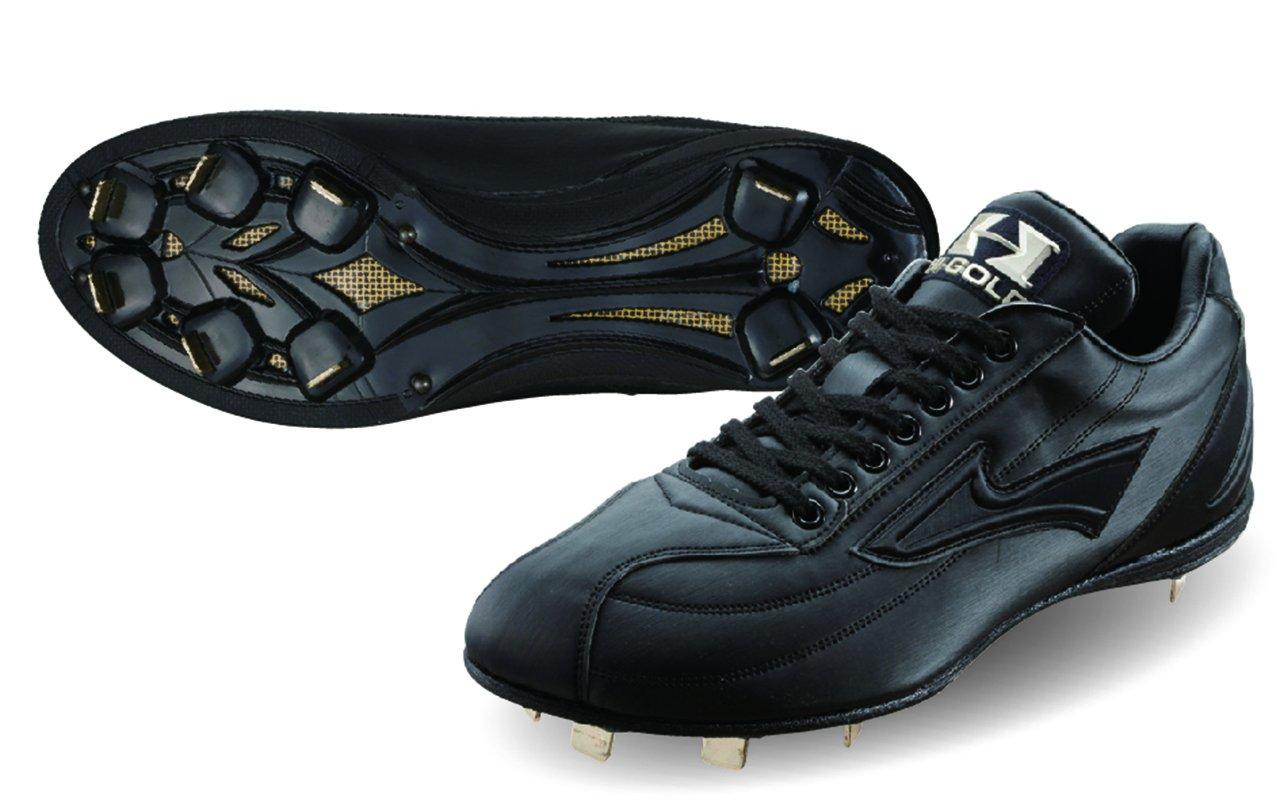 HI-GOLD(ハイゴールド) 樹脂底スパイク レギュラーカット 早く走りたい人向き PKS-7900 B00M1K01TW 28.5cm|ブラック ブラック 28.5cm