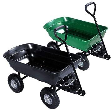 Generic Whe Tipper - Carro de Herramientas con Ruedas para Remolque, camión, Remolque, Remolque, jardín, Color al Azar: Amazon.es: Electrónica