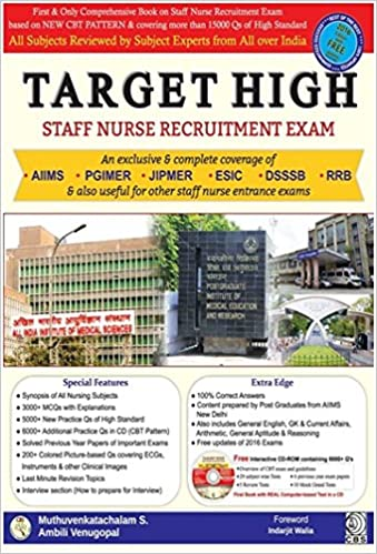 Buy Target High Staff Nurse Recruitment Exam Pb 2016 Book Online At Low Prices In India Target High Staff Nurse Recruitment Exam Pb 2016 Reviews Ratings Amazon In