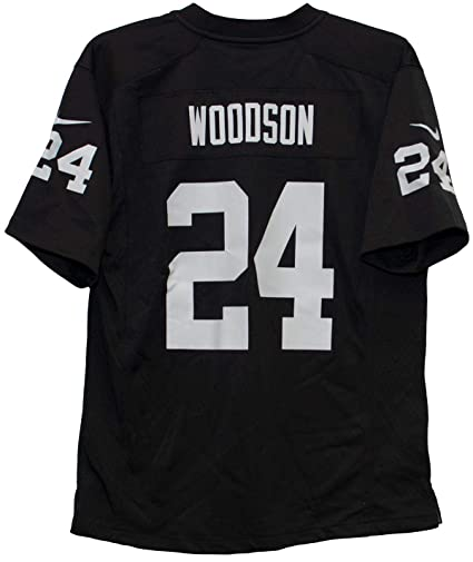 separation shoes 4e277 0cd25 Amazon.com : Nike Charles Woodson Oakland Raiders Team Color ...