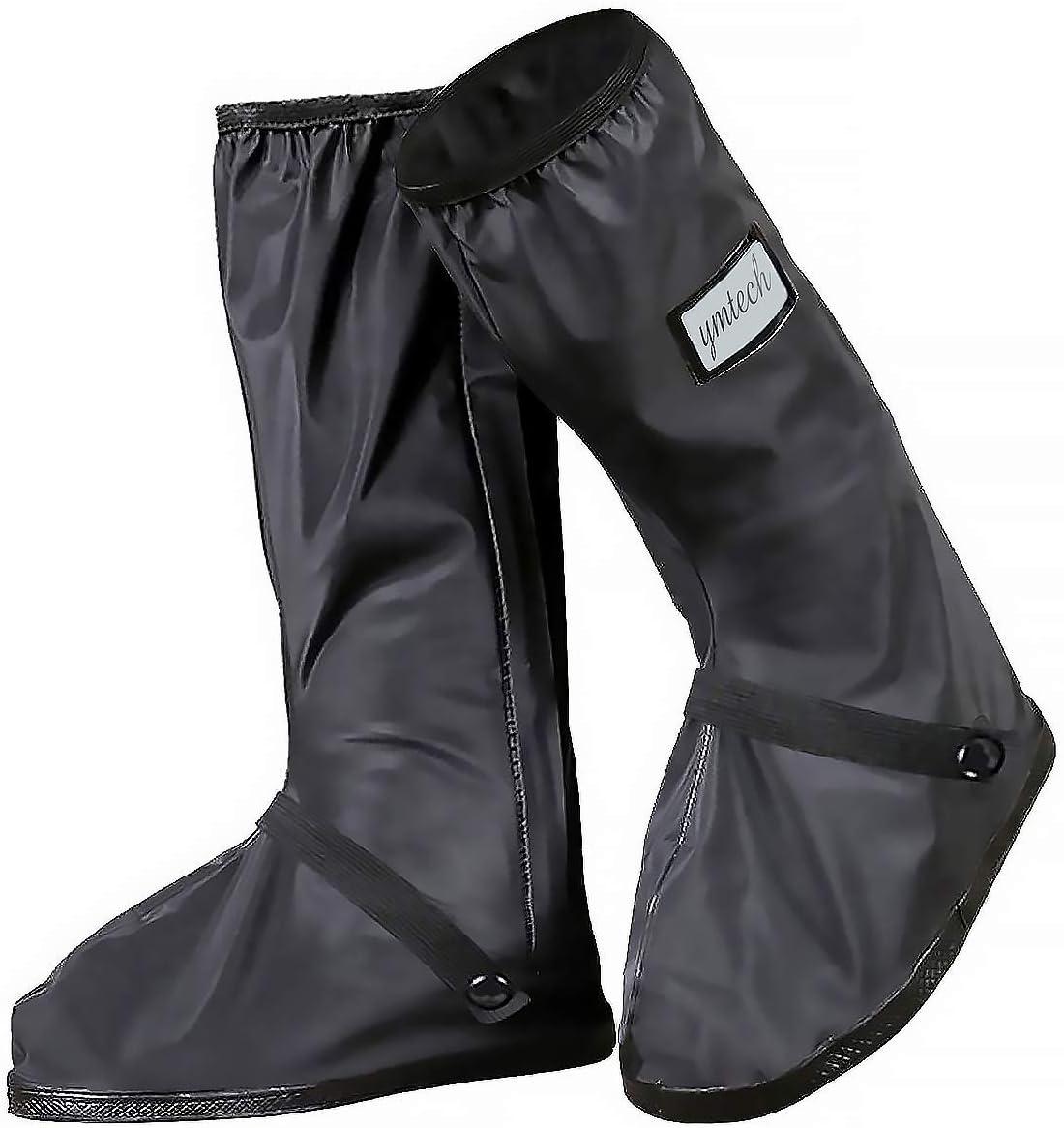 YMTECH Impermeable y antideslizante Cubierta del zapato