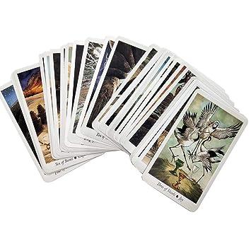 78 Piezas de Cartas de Tarot en inglés, Tarjeta de Fiesta de ...