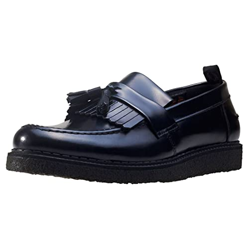 76d6e6d0c Fred Perry Men's George Cox Black Tassel Loafer: Amazon.fr ...