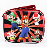 Best NINTENDO Friend Lunch Boxes - Super Mario Brothers Canvas Boys and Girls School Review