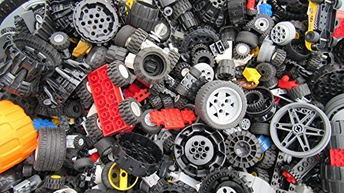 2 Pounds of Lego Wheels (Includes Hundreds of Pieces!) ()