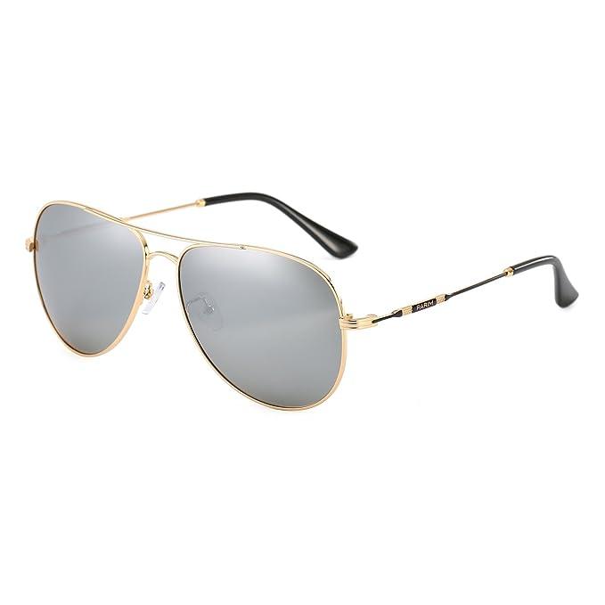 Amazon.com: parim anteojos de sol anteojos de sol retro ...