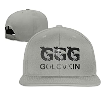 HEIYALA Gennady Golovkin GGG Boxing Fitted Flat Brim Baseball Cap Hat   Amazon.co.uk  Kitchen   Home 2acf72f3bc56