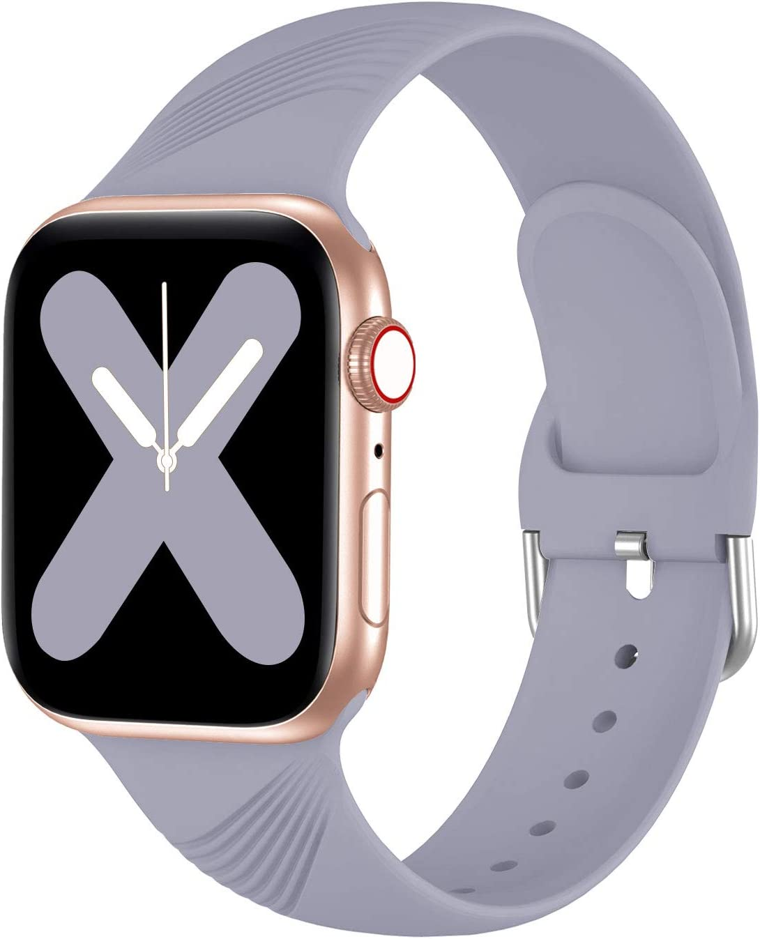 Seizehe Compatible with Apple Watch Bands 38mm 40mm SE Series 6 Series 5 Series 3, Silicone Sport iWatch Bands 38mm 40mm Women Men Girl Boy Compatible for Apple Watch SE Series 6 5 4 3 2 1