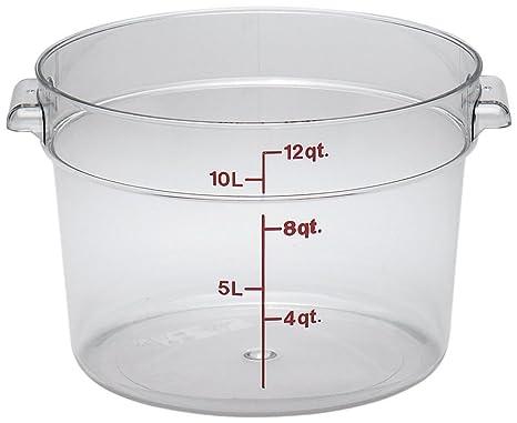 Amazon Com Camwear Polycarbonate Round Food Storage Container 12