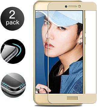 2 Unidades]Huawei P8 Lite 2017 Protector de Pantalla[Cobertura ...