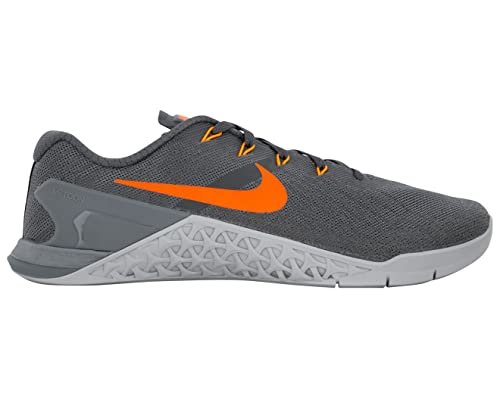7b4f9c7c3f7 Nike New Mens Metcon 3 Training Shoes Track Dark Grey Hyper Crimson Size 10   Buy Online at Low Prices in India - Amazon.in
