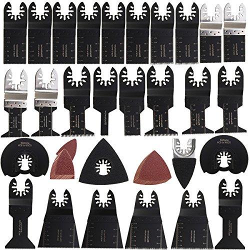 DADANGSH 68本の振動マルチツールノコギリブレードキットマキタボッシュミルウォーキーマルチツール DIYツール B07S31CNTR