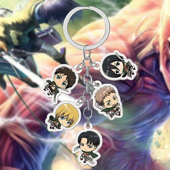 Amazon.com: Opopark Anime Attack On Titan Anime Metal ...