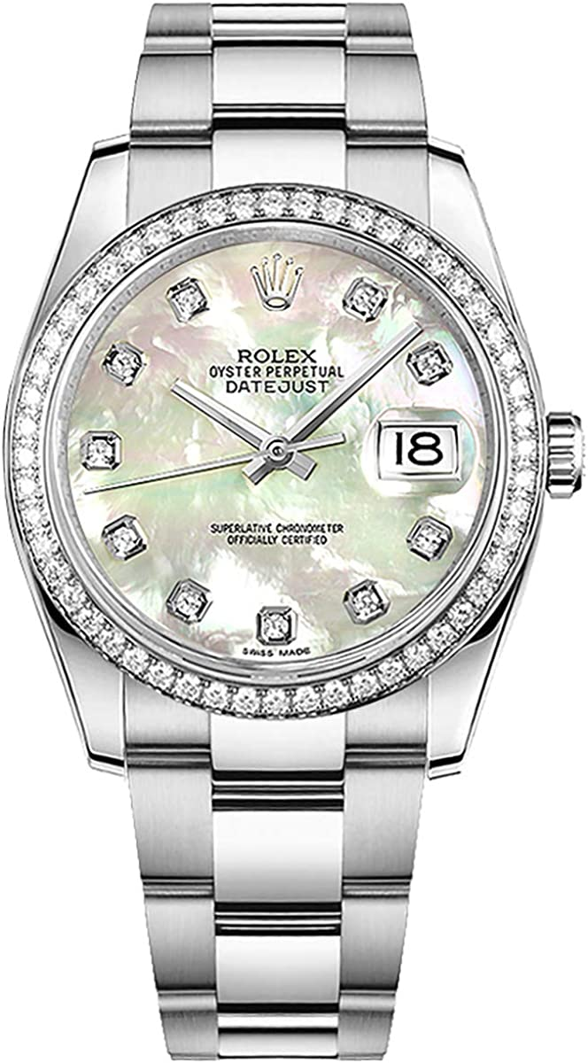 Women's Rolex Datejust 36 Diamond Luxury Watch (Reference: 116244)