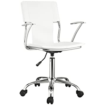 studio office furniture. modway studio office chair in white vinyl furniture i