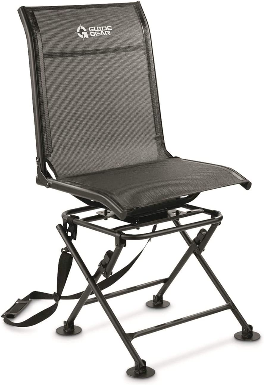 Guide gear 360-degree swivel hunting blind chair