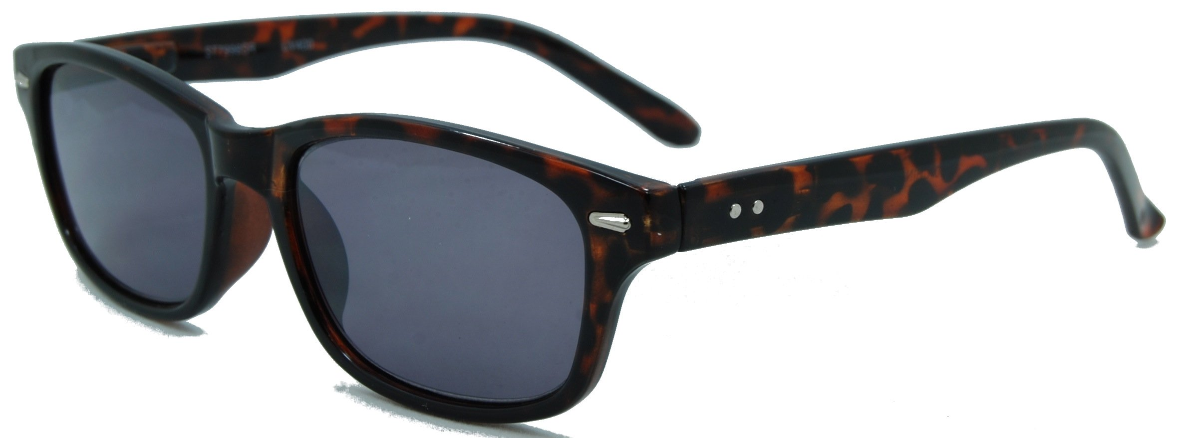 InSight, Classic Full Reader Sunglasses. Not BiFocals/Tortoise/1.25 Strength by In Style Eyes