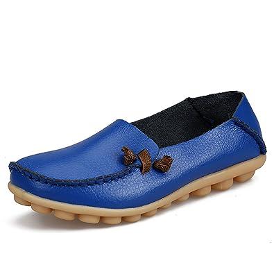 Damen Niedrig, Blau - Blue A - Größe: 35.5 Eagsouni