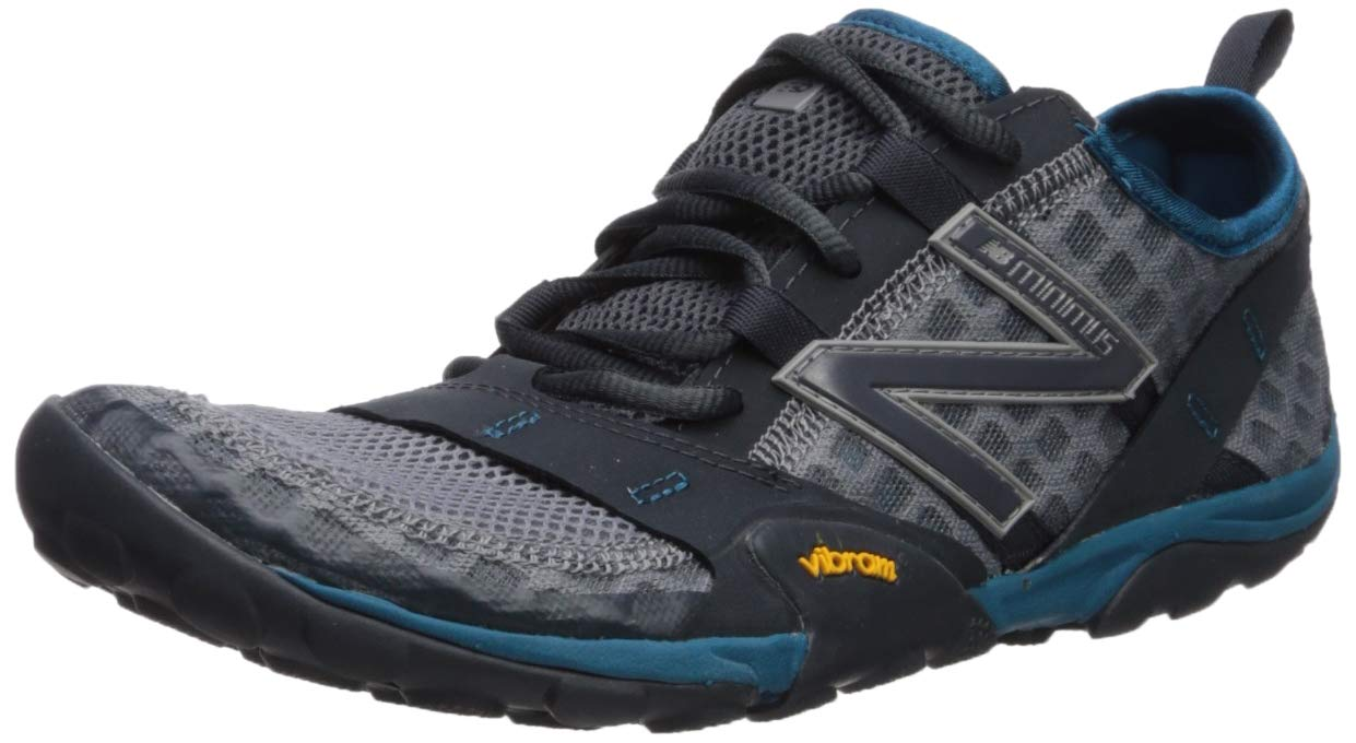 New Balance Men's 10v1 Minimus Running Shoe, Gunmetal/orca/Dark Neptune, 11