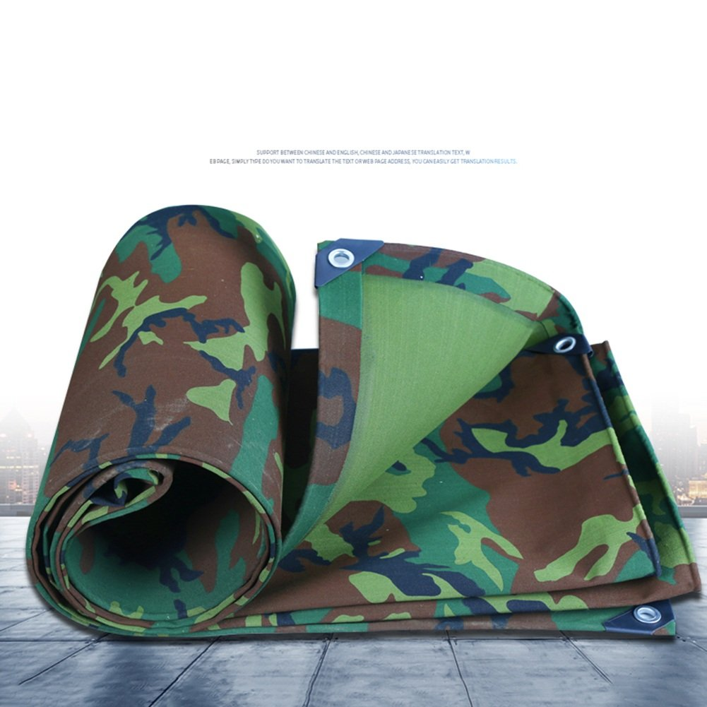 CAOYU Camouflage Plane wasserdicht Sonnencreme Leinwand Zelt Tuch Dreirad Auto Schuppen Tuch Anti-Korrosions-Korrosionsschutz