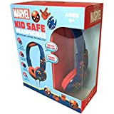 Spiderman Headphones Lightweight Safe Sound, Excellent Quality & Super Cool Design- for Use with iPhone, Android, Gaming…