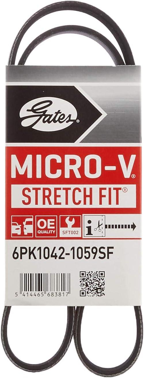 Gates 6PK1042SF Keilrippenriemen Micro-V®