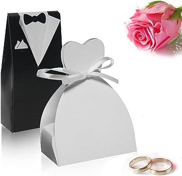 Spanish Trend vendedor - Regalos de pareja de novios de la boda cajas de 8 x ┃