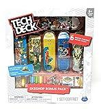 Tech Deck Sk8shop Bonus Pack Krooked Skateboarding with 6 Fingerboards