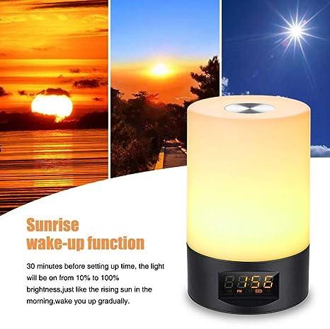 de mesa lámpara para de Nueva luz natural con despertador l3TcKF1J