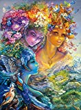 Buffalo Games - Josephine Wall - The Three Graces - Glitter Edition - 1000 Piece Jigsaw Puzzle