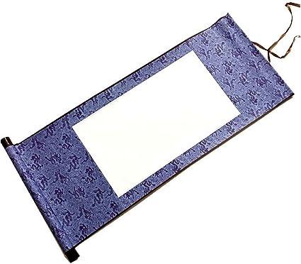 Parchemins suspendus vierges de papier dart de papier chinois de Xuan mini pour la peinture//calligraphie E