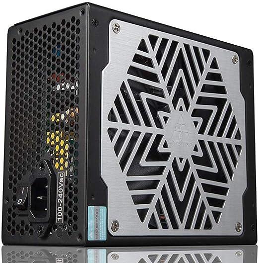 Tbaobei-Baby Cajas de computadora 500W ATX Informática Fuente de alimentación PFC Activo con Amplia silencioso Ventilador de 140mm for PC de Escritorio Negro (Color : Black, Size : One Size): Amazon.es: Hogar