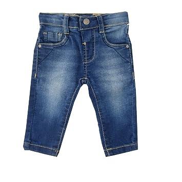 a7a11819fe4de1 Jungen Mädchen Jeans Hose blau 6-9 Monate (68 74)  Amazon.de  Baby