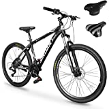 SIRDAR S-900 27 Speed 27.5 inch Mountain Bike Aluminum Alloy and High Carbon Steel with 2 Replaceable Seat, Full…