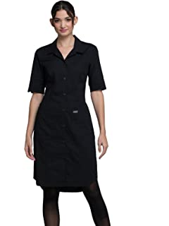 8dd9b28963ccd Cherokee Workwear Professionals Women's Button Front Scrub Dress