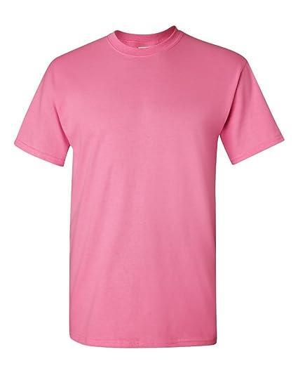 ce6de5e9c Image Unavailable. Image not available for. Color: Gildan 5.3oz Heavy  Cotton Short Sleeve T-Shirt - Azalea 5000 L