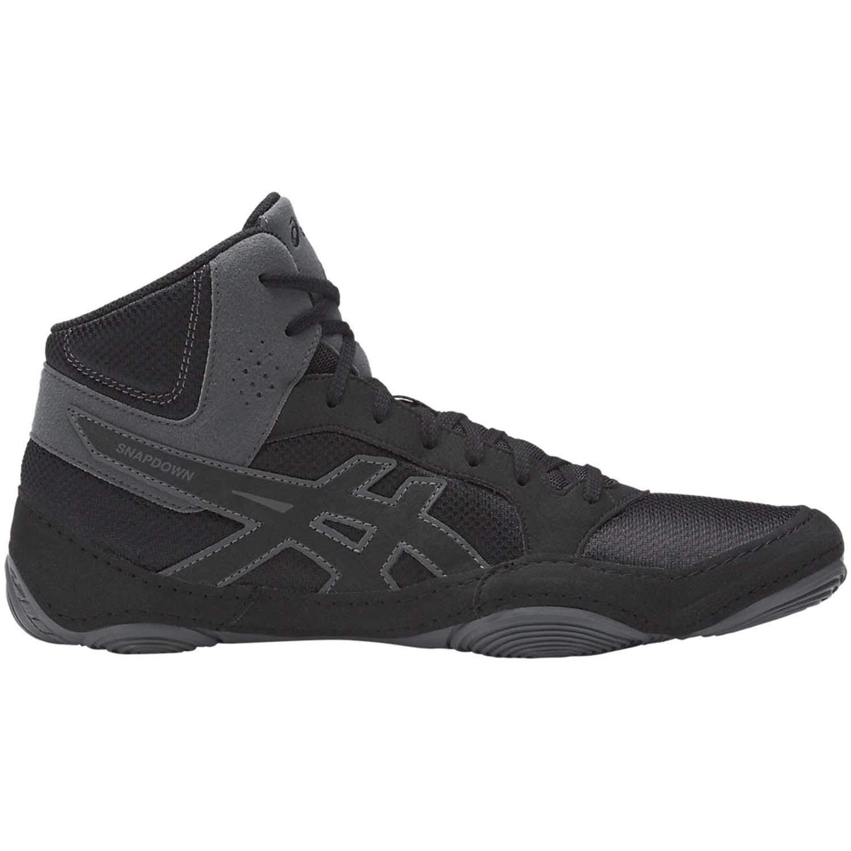 ASICS Mens Snapdown 2 Wrestling Shoe, Black/Carbon, 11 Medium US by ASICS