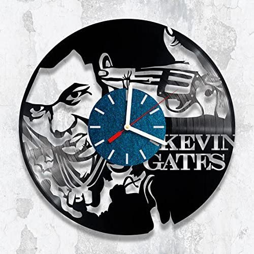 Anniversary 5 Years Wall Clock Couple Vinyl Record Clock Wedding Gift For Friend