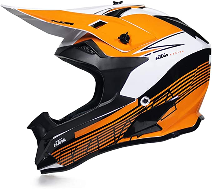 MRDEAR Casco Descenso MTB Integral Casco de Motocross Adulto ...
